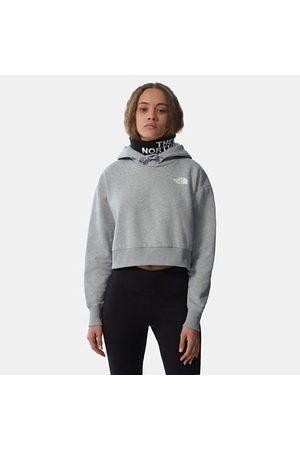 TheNorthFace Dames Sweaters - The North Face Trend-fleecehoodie Met Korte Pasvorm Voor Dames Tnf Light Grey Heather Größe XS Dame