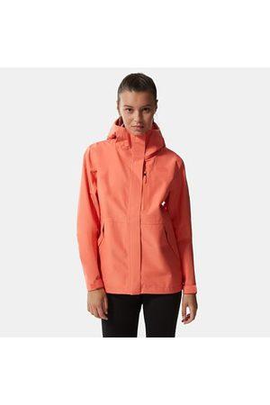 TheNorthFace The North Face Dryzzle Futurelight™-jas Voor Dames Emberglow Orange Größe L Dame