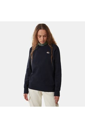 TheNorthFace Dames Sweaters - The North Face Scrap Graphic-sweater Voor Dames Aviator Navy Größe L Dame
