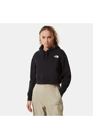 TheNorthFace Dames Sweaters - The North Face Trend-fleecehoodie Met Korte Pasvorm Voor Dames Tnf Black Größe L Dame