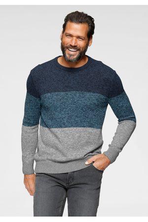 Man's World Heren Pullovers - Trui met ronde hals meerkleurig