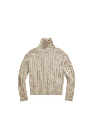 Polo Ralph Lauren Cable-Knit Roll Neck Jumper