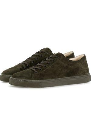 ETQ Heren Sneakers - Sneakers Heren Donkergroen Suede