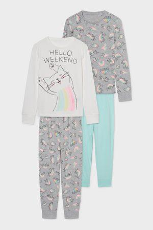 C&A Set van 2-pyjama-biokatoen