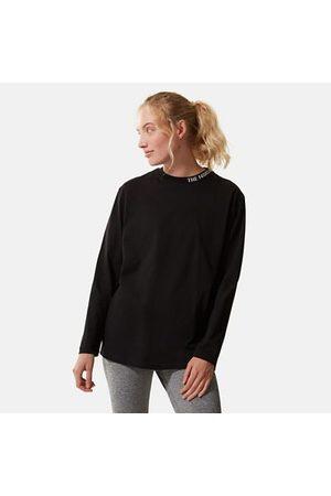 The North Face The North Face Zumu-t-shirt Met Lange Mouwen Voor Dames Nieuw Tnf Black Größe L Dame