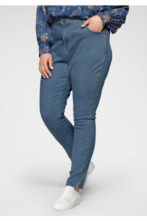 Levi's Dames High waisted - Levi's® Plus skinny fit jeans 721 High-Rise met hoge band