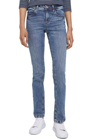 """TOM TAILOR Dames Straight - Straight jeans in recht """"straight"""" five-pocketsmodel"""