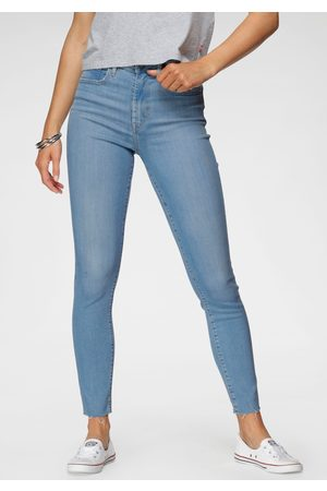 Levi's Dames High waisted - ® skinny fit jeans 721 High rise met open zoom