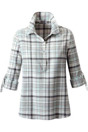 Casual Looks Geruite blouse