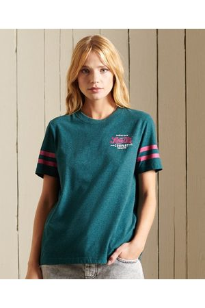 Superdry Dames Shirts - Script Style College T-shirt