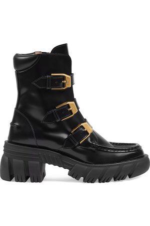 Gucci Dames Enkellaarzen - Women's ankle boot with buckles