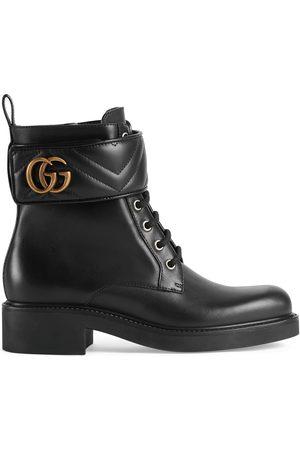 Gucci Dames Laarzen - Women's ankle boot with Double G