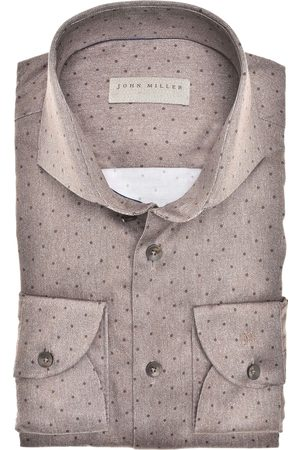 John Miller Heren Lange mouwen - Overhemd