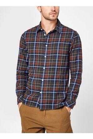 Knowledge Cotton Apparal LARCH regular fit small checked flannel shirt - GOTS/Vegan by