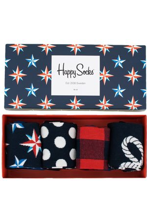 Happy Socks Sokken & Kousen - Nautical giftbox 4-pack