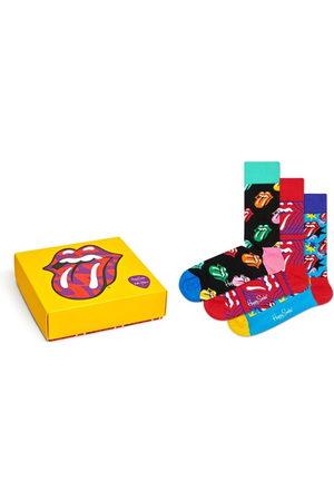 Happy Socks Sokken & Kousen - Rolling Stones giftbox 3-pack