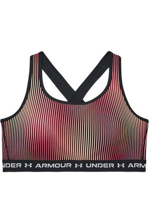 Under Armour Dames sport BH Armour® Mid Crossback Print