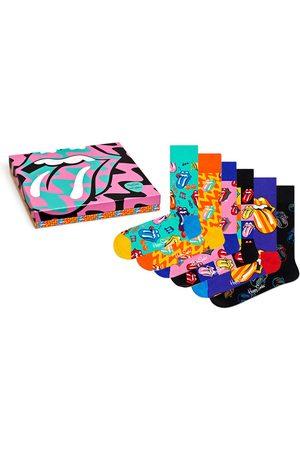 Happy Socks Sokken & Kousen - Rolling Stones giftbox 6-pack II