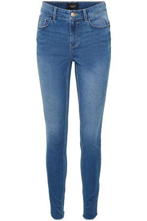 VERO MODA Vmseven Normal Waist Slim Fit Jeans Dames