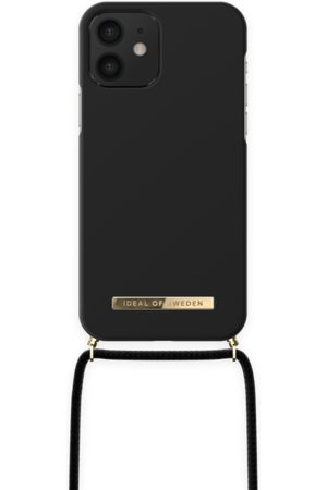 IDEAL OF SWEDEN Telefoon - Ordinary Phone Necklace Case iPhone 12 Jet Black