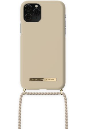 IDEAL OF SWEDEN Dames Telefoon - Ordinary Phone Necklace Case iPhone 11 Pro Cream