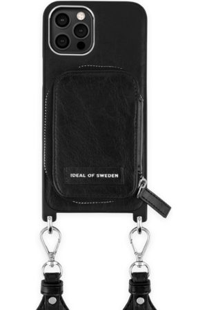 IDEAL OF SWEDEN Telefoon - Active Necklace Case iPhone 12 Pro Max Liberty Black