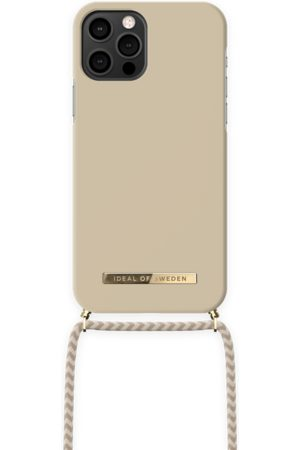 IDEAL OF SWEDEN Dames Telefoon - Ordinary Phone Necklace Case iPhone 12 Pro Cream
