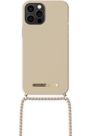 IDEAL OF SWEDEN Dames Telefoon - Ordinary Phone Necklace Case iPhone 12 Pro Max Cream