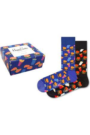 Happy Socks Hamburger giftbox 2-pack