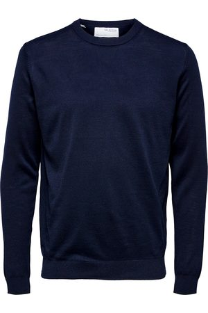 SELECTED Heren trui slhtown merino coolmax knit crew b 16079772