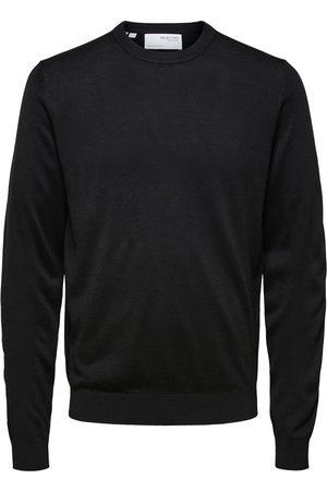 SELECTED Heren Gebreide truien - Heren trui slhtown merino coolmax knit crew b 16079772