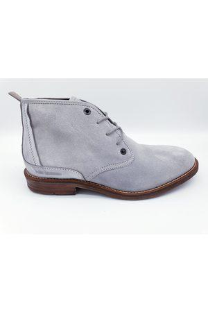 PME Legend Pme legend daily halfhoge grijze suède schoenen