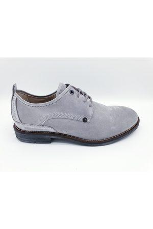 PME Legend Heren Schoenen - Pme legend davis grijze schoenen heavy waxed suède