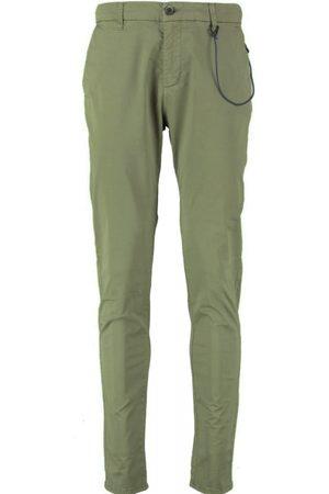 Dstrezzed Heren Chino's - Army groene stretch chino broek