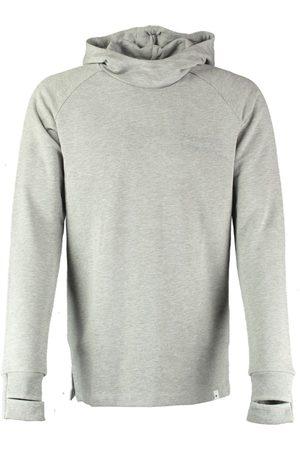 Pure White Grijze sweater hoodie
