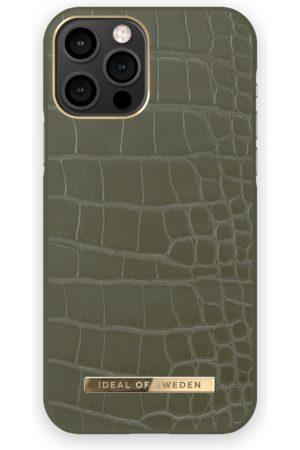 IDEAL OF SWEDEN Telefoon - Atelier Case iPhone 12 Pro Khaki Croco