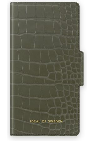 IDEAL OF SWEDEN Atelier Wallet iPhone 11 Khaki Croco
