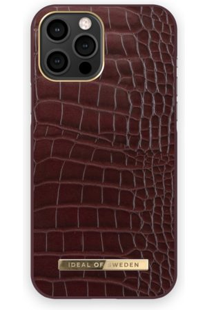 IDEAL OF SWEDEN Atelier Case iPhone 12 PRO MAX Scarlet Croco