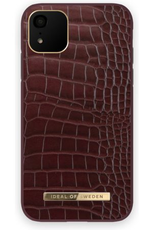 IDEAL OF SWEDEN Atelier Case iPhone 11 Scarlet Croco