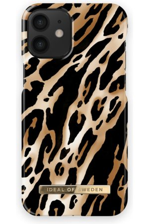 IDEAL OF SWEDEN Fashion Case iPhone 12 Mini Iconic Leopard
