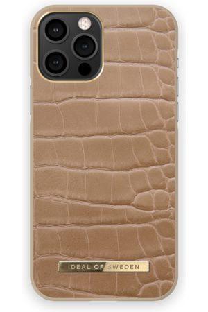 IDEAL OF SWEDEN Atelier Case iPhone 12 Pro Camel Croco