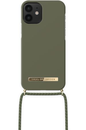 IDEAL OF SWEDEN Ordinary Necklace iPhone 12 MINI Cool Khaki