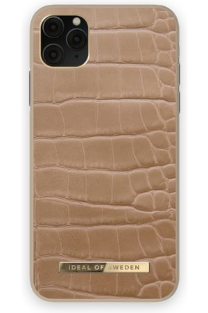 IDEAL OF SWEDEN Atelier Case iPhone 11 Pro Max Camel Croco