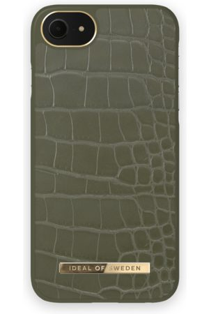 IDEAL OF SWEDEN Atelier Case iPhone 8 Khaki Croco