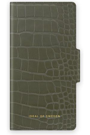 IDEAL OF SWEDEN Atelier Wallet iPhone 12 Mini Khaki Croco