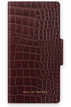 IDEAL OF SWEDEN Atelier Wallet iPhone 12 Mini Scarlet Croco