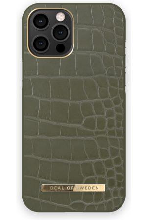 IDEAL OF SWEDEN Atelier Case iPhone 12 PRO MAX Khaki Croco