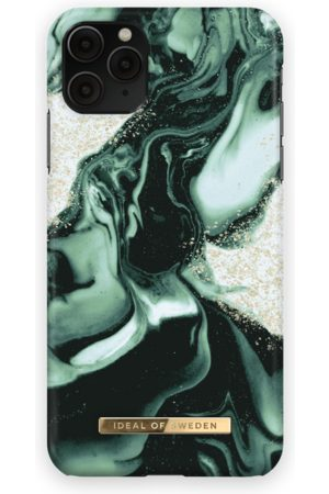 IDEAL OF SWEDEN Fashion Case iPhone 11 Pro Max Golden Olive Marble