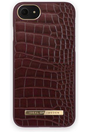 IDEAL OF SWEDEN Atelier Case iPhone 8 Scarlet Croco