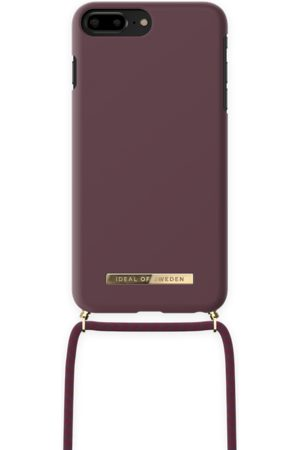 IDEAL OF SWEDEN Ordinary Necklace iPhone 8 Plus Deep Cherry